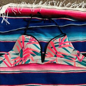PINK baiting suit top